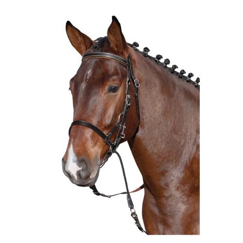 a4ea85d5c3abb Loesdau Ogłowie bezwędzidłowe Plus - Sklep jeździecki Equiversum